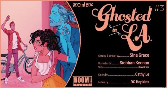 Ghosted in L.A. #3 preview feature