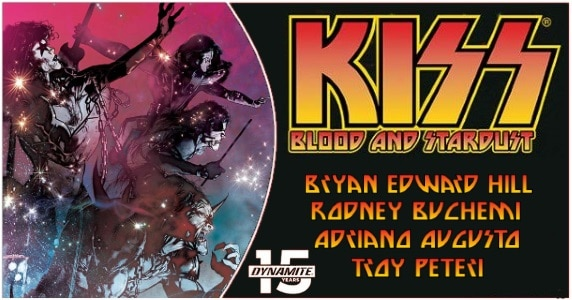 KISS Blood & Stardust TPB preview feature