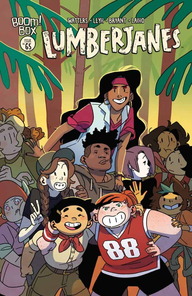 LUMBERJANES #65 - Main Cover
