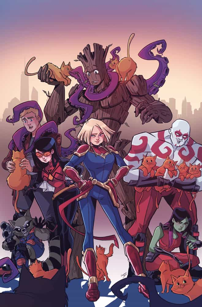 Marvel Action: Captain Marvel #3 - Cover A