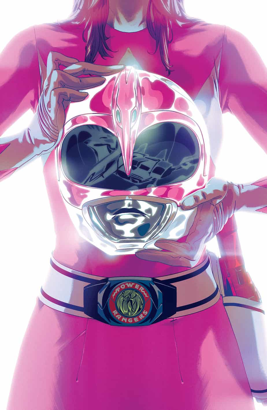 Mighty Morphin Power Rangers #42 - Foil Cover