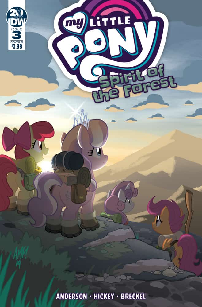 My Little Pony: Spirit of the Forest #3 - Cover B