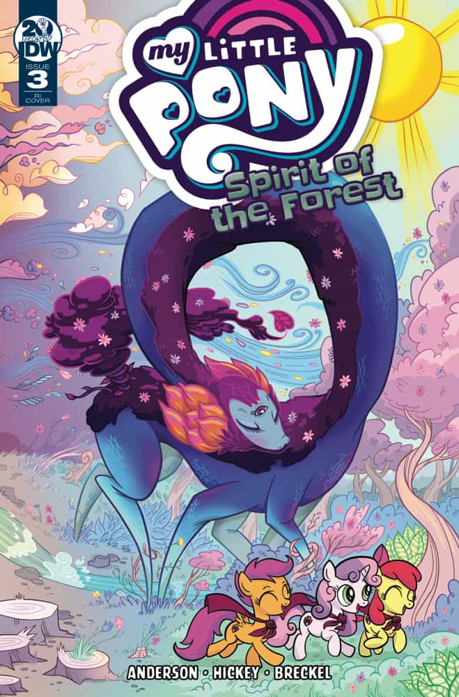 My Little Pony: Spirit of the Forest #3 - Retailer Incentive Variant