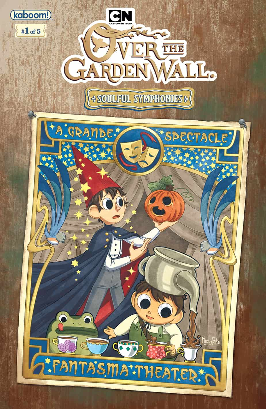 Over The Garden Wall™: Soulful Symphonies #1 - Preorder Cover