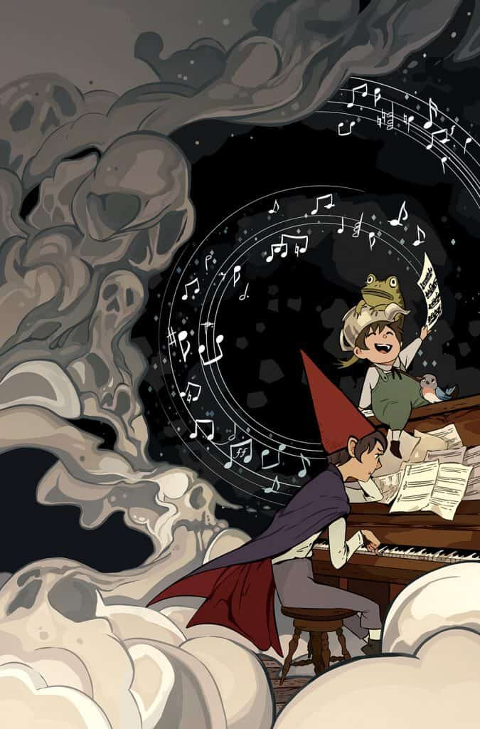 OVER THE GARDEN WALL: SOULFUL SYMPHONIES #4 - Main Cover