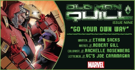 Old Man Quill #9 preview feature