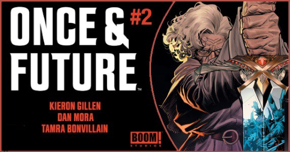 Once & Future #2 pre-order feature