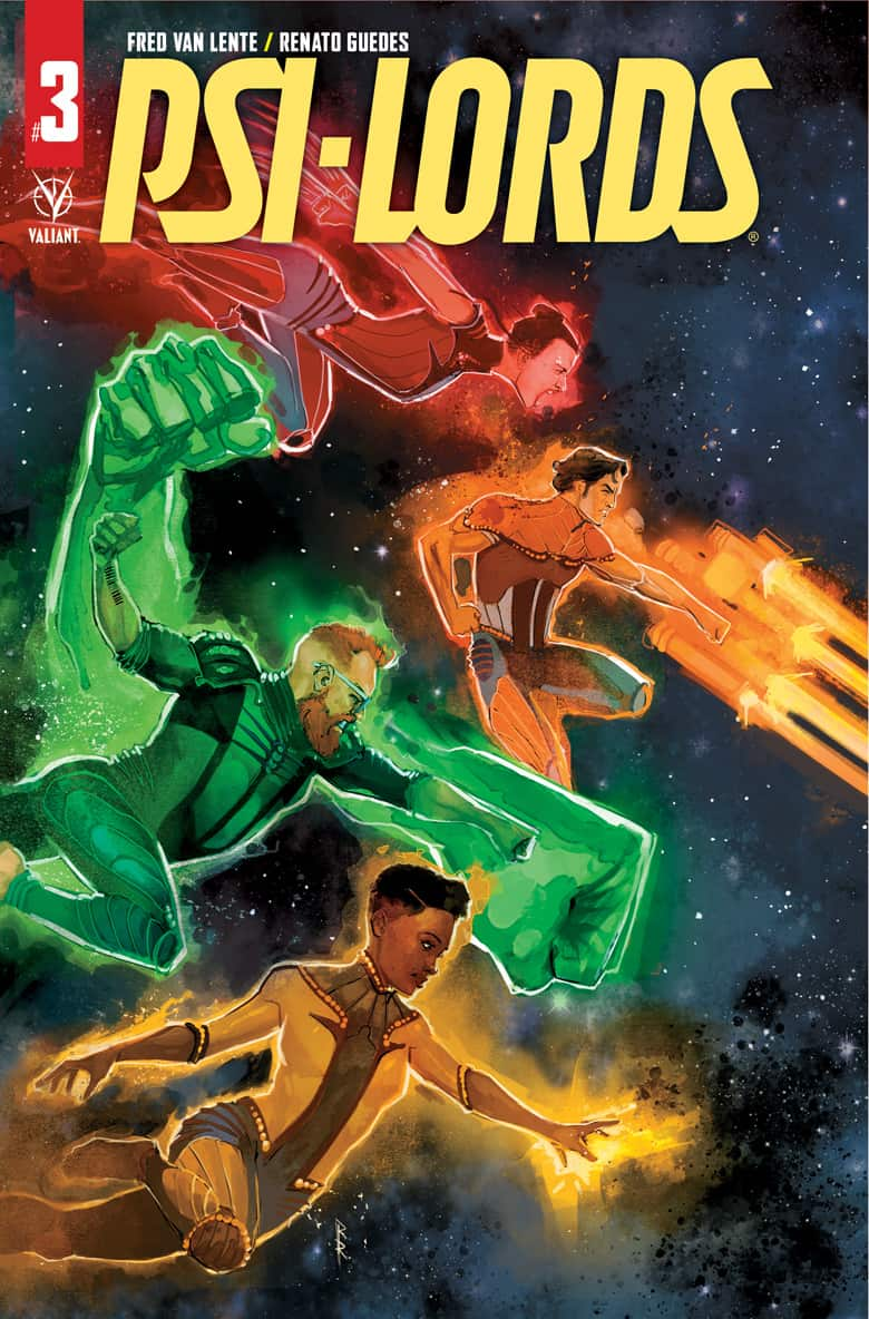 PSI-LORDS #3 - Cover B
