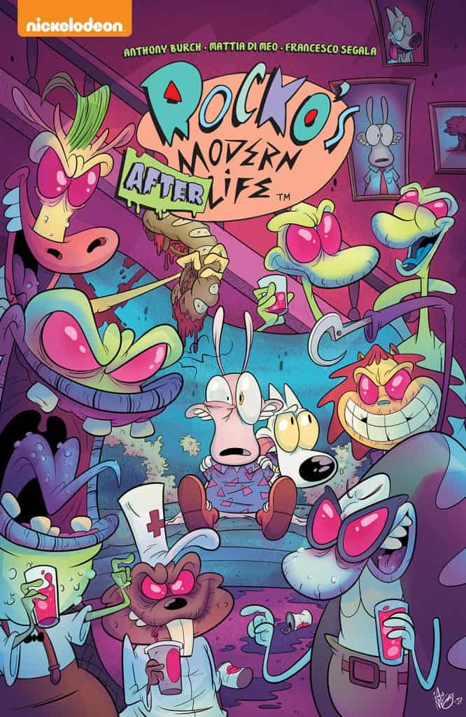 ROCKO'S MODERN AFTERLIFE TPB cover