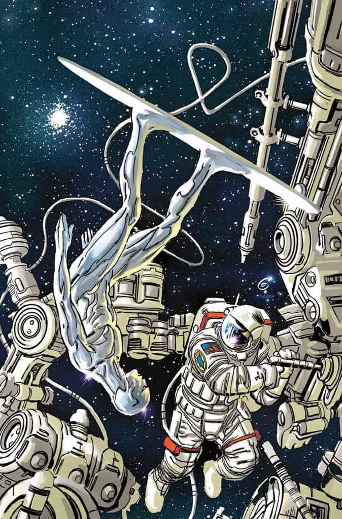 SILVER SURFER: THE PRODIGAL SUN #1 - Cover B