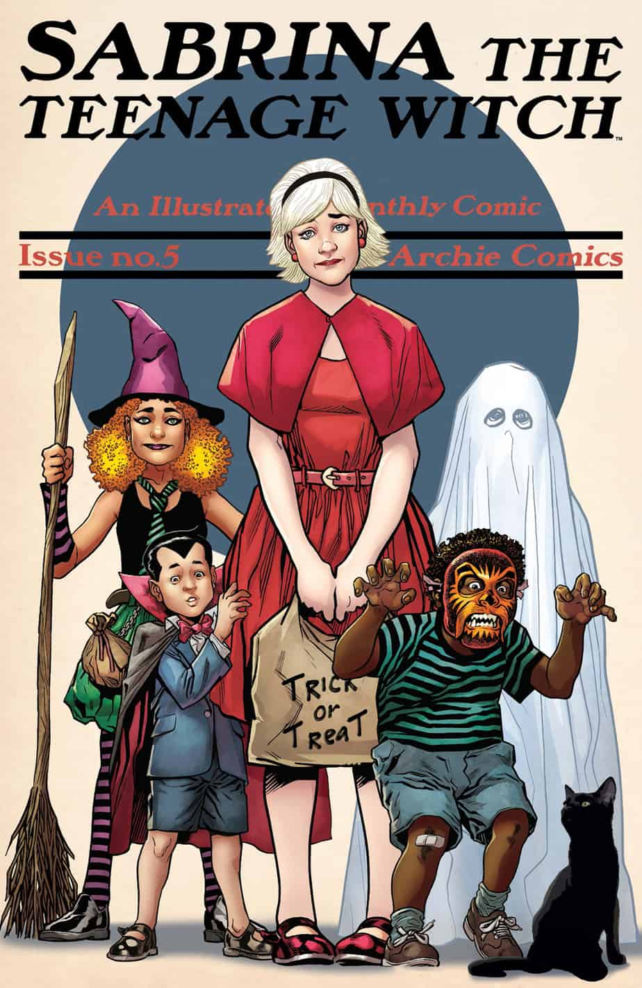 SABRINA THE TEENAGE WITCH #5 - Variant Cover by Gary Erskine