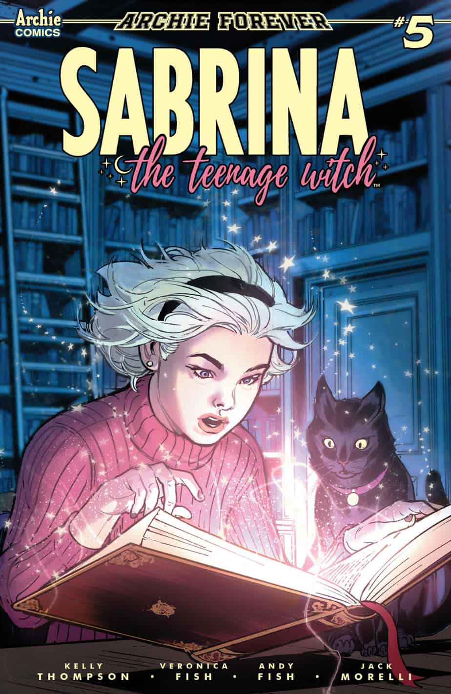 SABRINA THE TEENAGE WITCH #5 - Variant Cover by Victor Ibanez