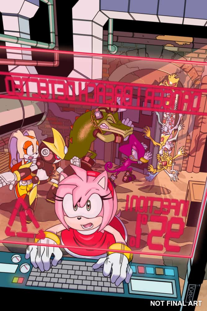 Sonic the Hedgehog #22 - Cover A