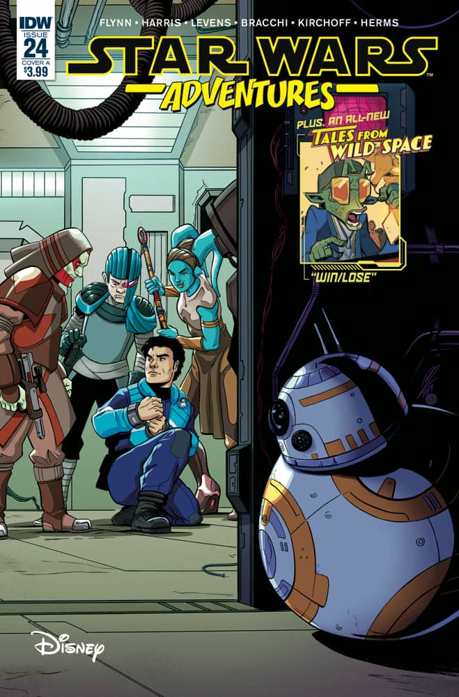 Star Wars Adventures #24 - Main Cover