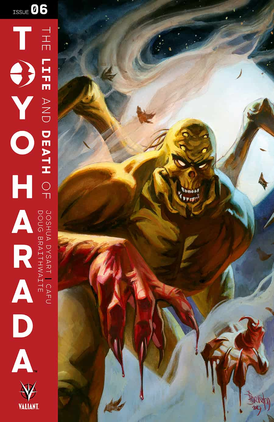 THE LIFE AND DEATH OF TOYO HARADA#6 - Cover B