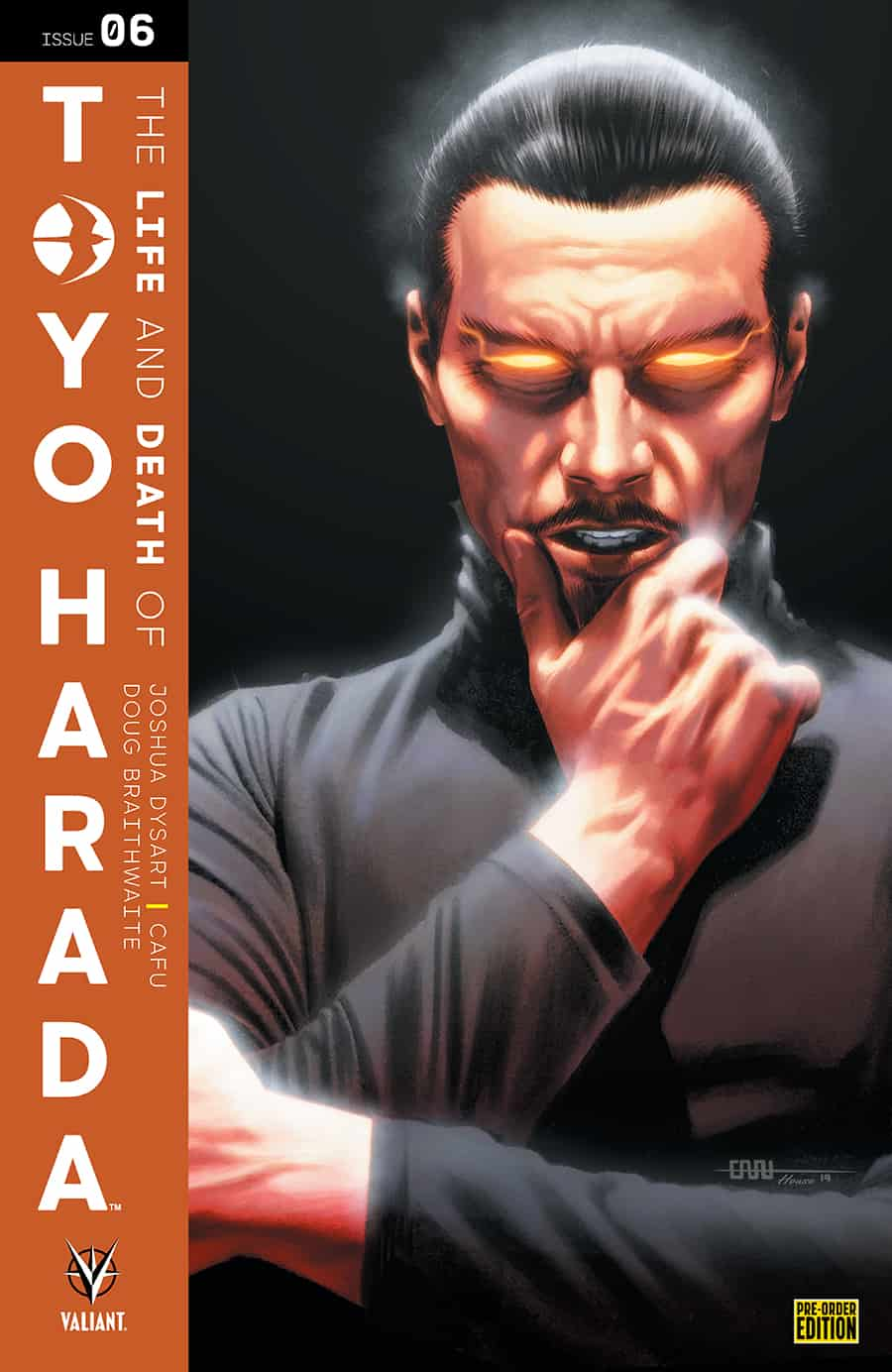 THE LIFE AND DEATH OF TOYO HARADA#6 - Pre-Order Edition Variant