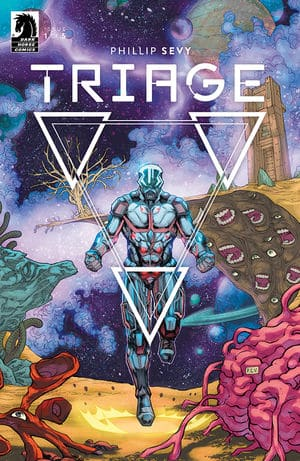 TRIAGE #1 - Main Cover by Phillip Sevy