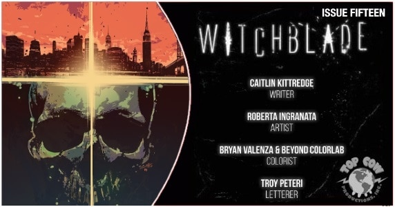 WITCHBLADE #15 preview feature 1