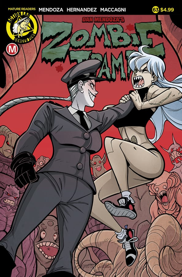 Zombie Tramp #63 Cover A