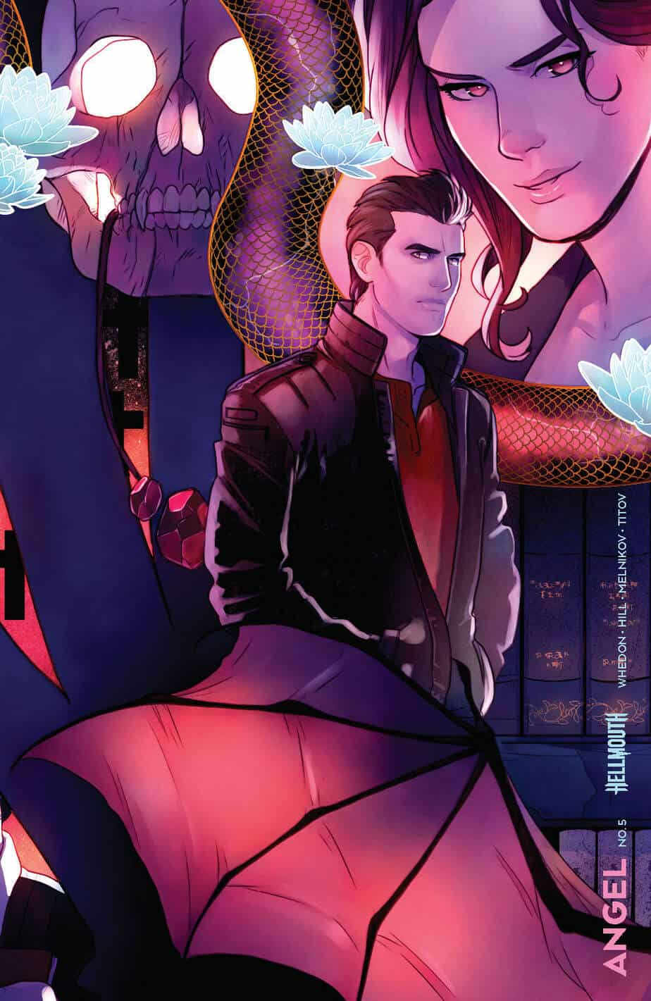 ANGEL #5 - Conecting Cover