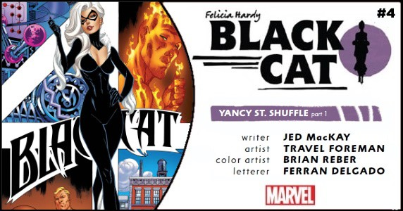 Black Cat #4 preview feature