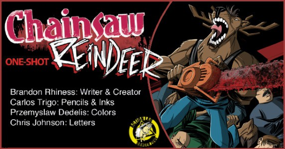 Chainsaw Reindeer One-Shot preview feature