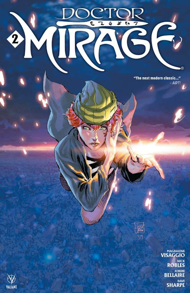 DOCTOR MIRAGE #2 - Cover A