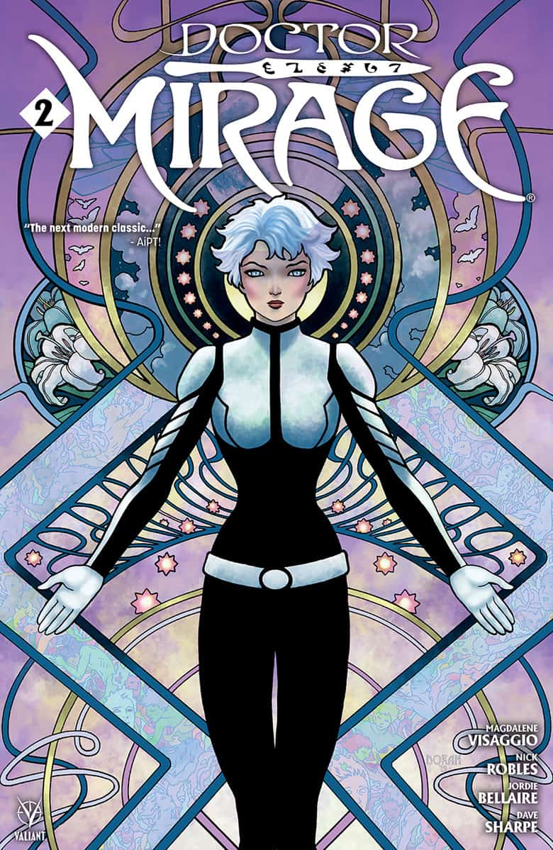 DOCTOR MIRAGE #2 - Cover B