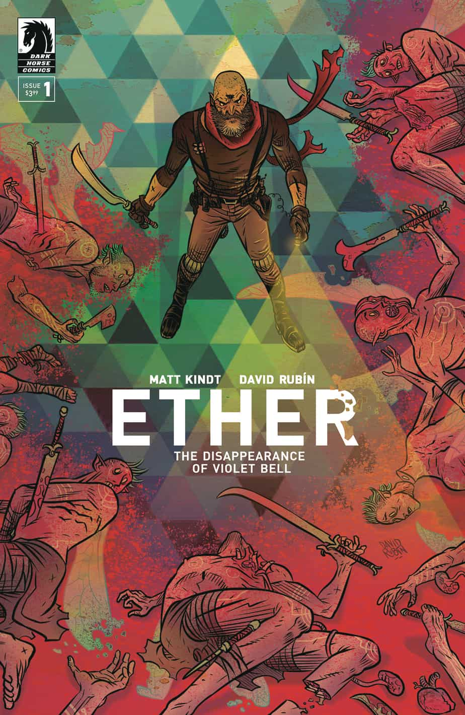 Ether: The Disappearance of Violet Bell #1 - Cover A