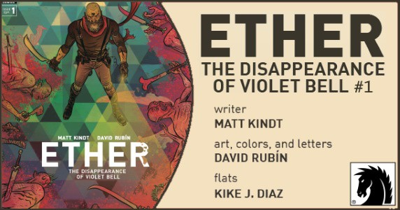 Ether The Disappearance of Violet Bell #1 preview feature