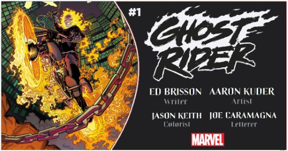 GHOST RIDER (2019) #1 preview feature