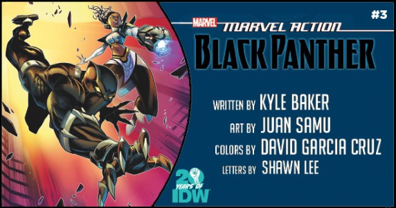 Marvel Action Black Panther #3 preview feature