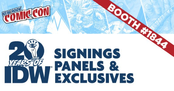 NYCC 2019 IDW Announcement feature