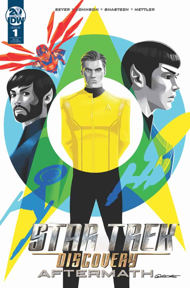Star Trek: Discovery: Aftermath #1 – Retailer Incentive Cover B