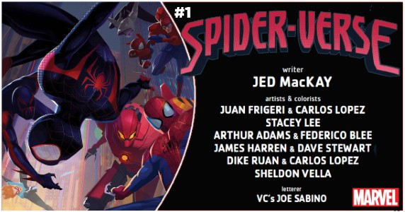 Spider-Verse #1 preview feature
