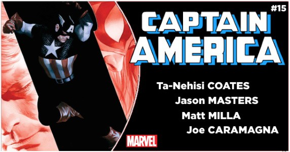 CAPTAIN AMERICA #15 preview feature