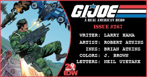 G.I. Joe A Real American Hero #267 preview feature