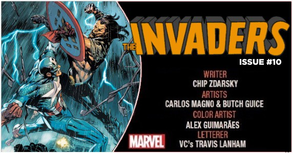 Invaders #10 preview feature