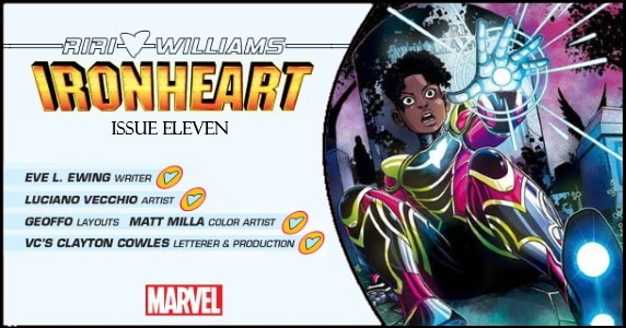 Ironheart #11 preview feature