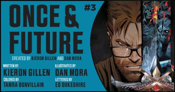 Once & Future #3 preview feature