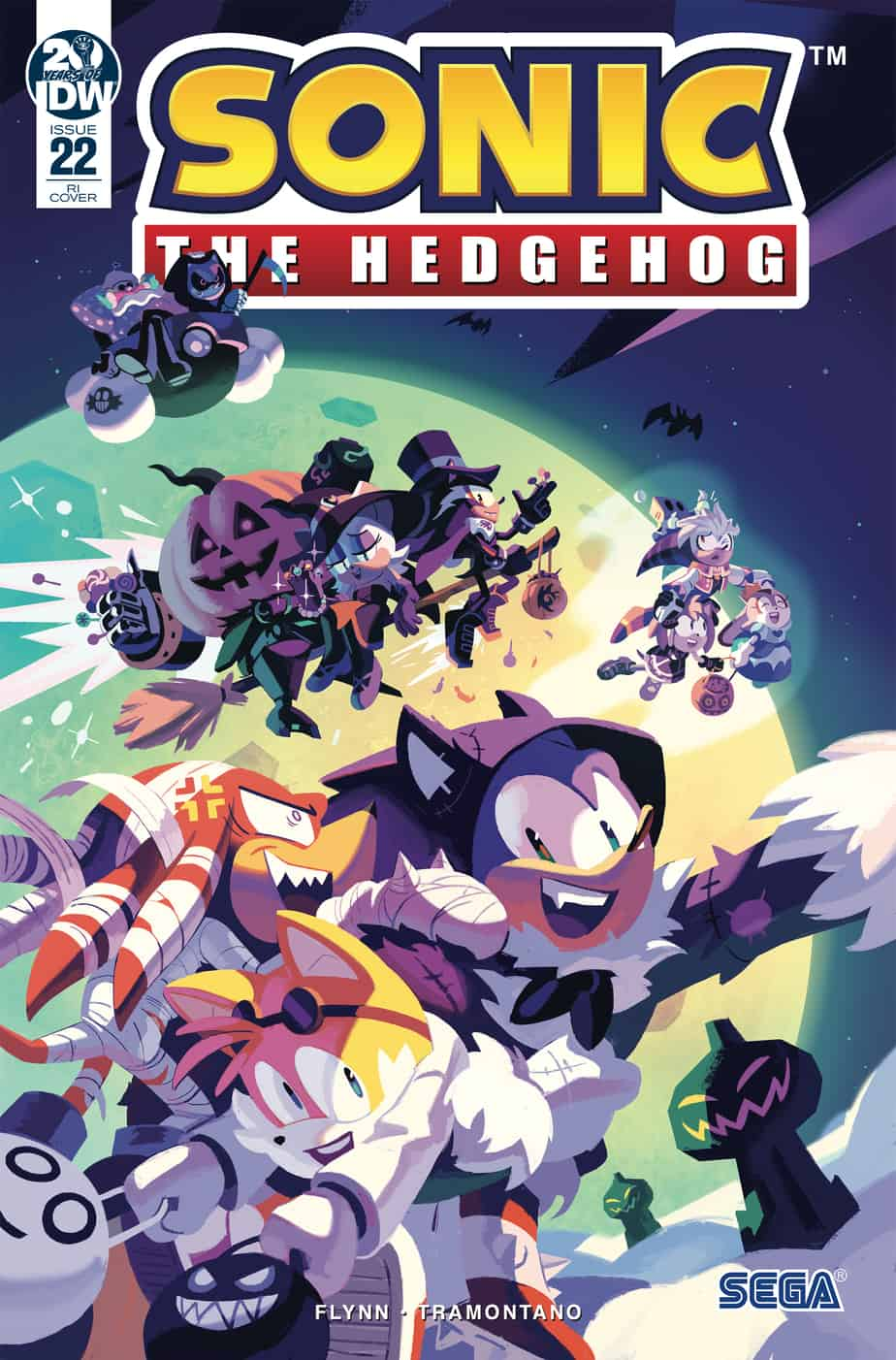 sonic the hedgehog 2019 comic