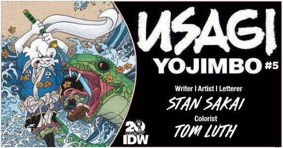 Usagi Yojimbo #5 preview feature