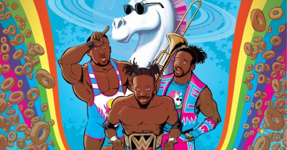 WWE The New Day announcement feature
