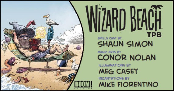 Wizard Beach TPB preview feature