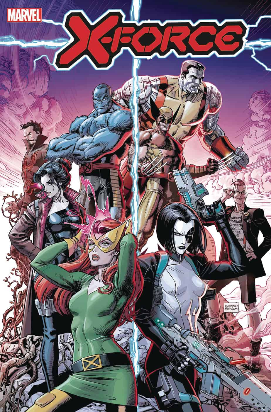 X-FORCE #1 – Cover A