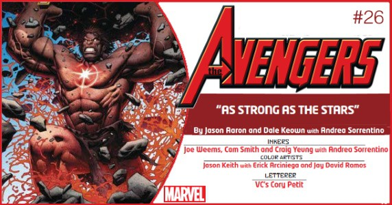 AVENGERS #26 preview feature