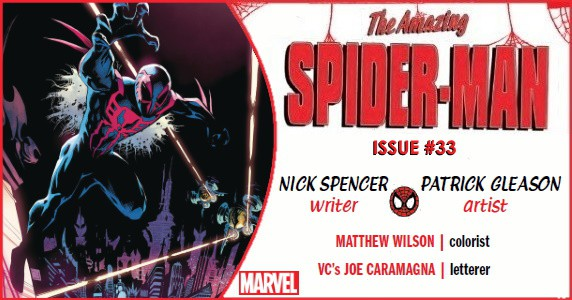 Amazing Spider-Man #33 preview feature