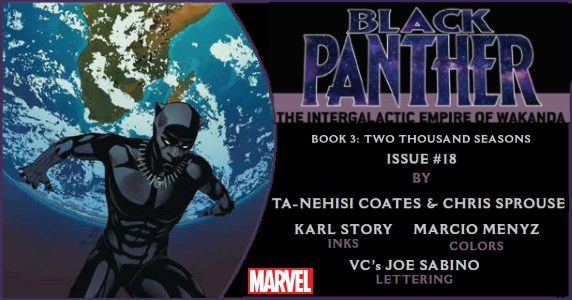 BLACK PANTHER #18 perview feature