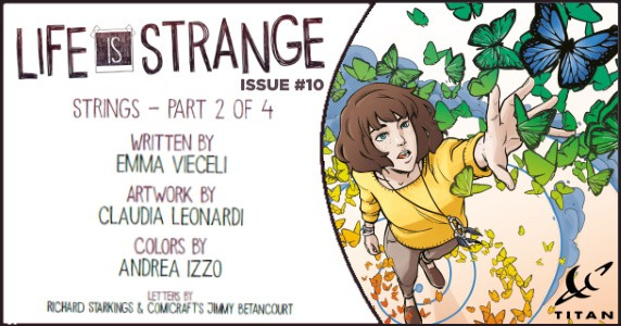Life is Strange #10 preview feature