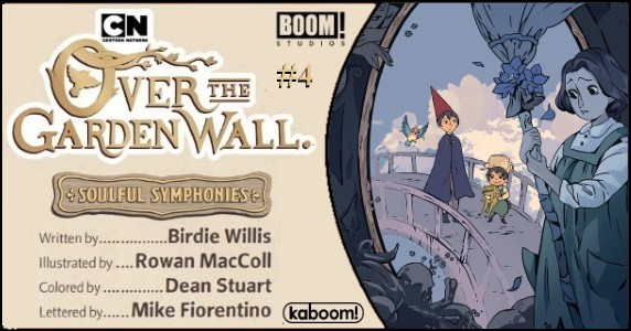 Over the Garden Wall Soulful Symphonies #4 preview feature